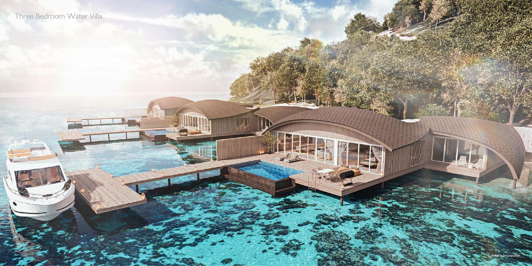 Three Bedroom Overwater Villa